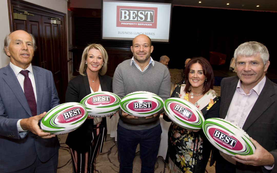 Rory Best Joins Best Property Services for Lunch