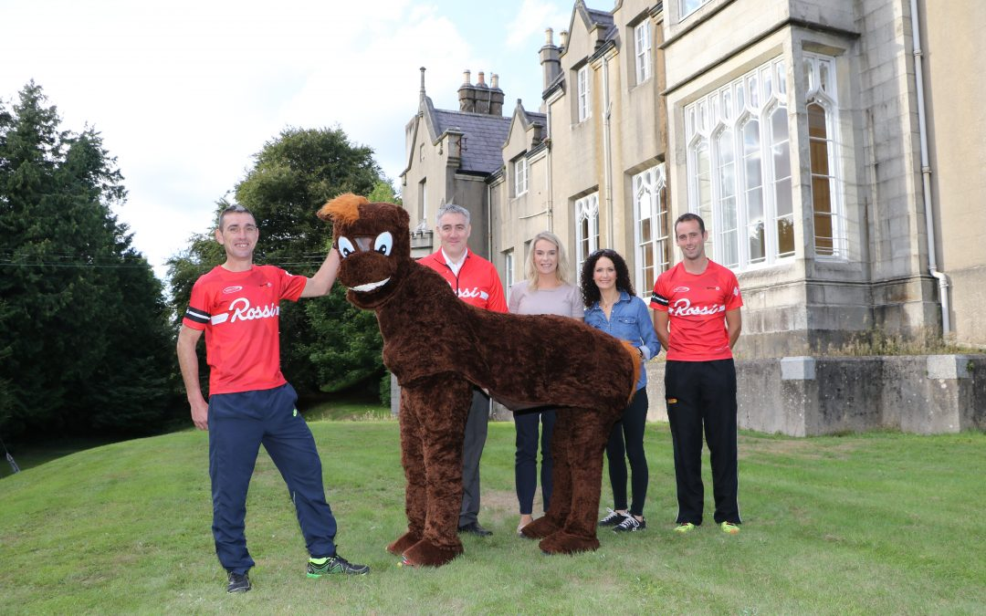 Rossi Host 'Pantomime Horse Derby' in aid of LIFE & TIME