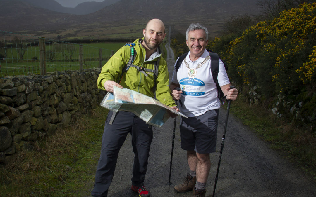 NMDDC Chairman Launches Charity Walk – 3 Days, 66 Miles