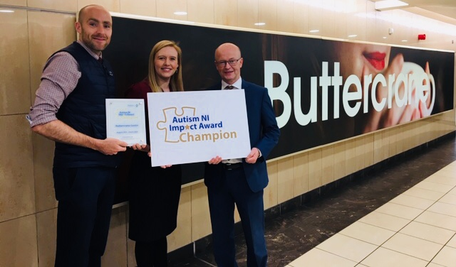Buttercrane Autism Impact Award: Autism NI