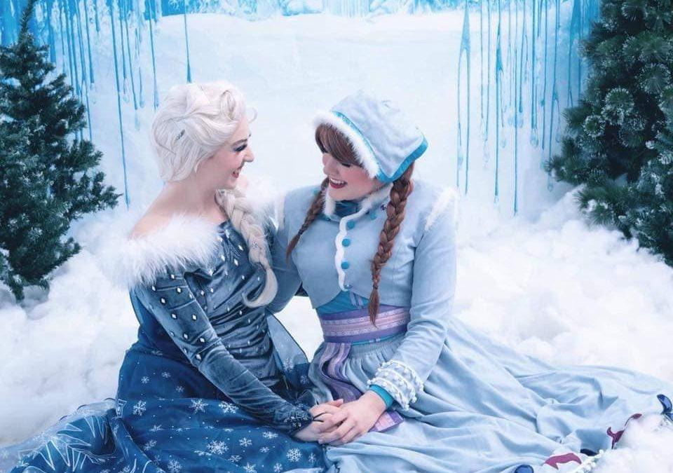 Santa Frozen Arrival, Buttercrane
