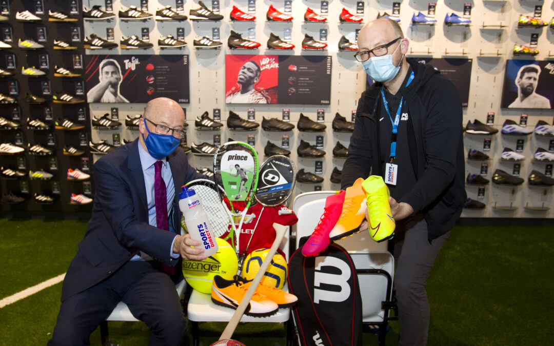 Sports Direct/USC New Megastore Opens in Buttercrane Centre, Newry