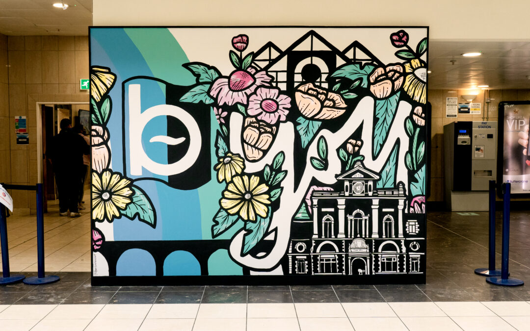 Mural Project with Artist Danni Simpson